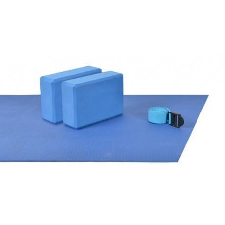 SET Mambo Yoga (2 colchonetas,2blocks,1 cincha)