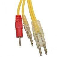 Cable Compex Fluo - Modelos antiguos - Amarillo