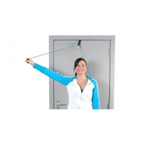 Set Polea nylon -Anclaje lona a puerta