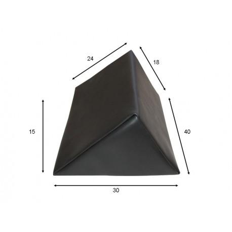Cojín triangular pequeño 30x40x18x24x25