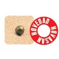 Bolitas magnéticas y cerámicas con adhesivo