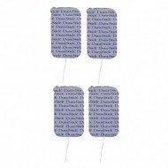 Electrodos 5x9 cm.DURA-STICK PLUS (4unds.)