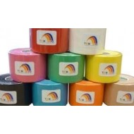 LOTE 30 rollos Kinesiology Tape Temtex - Colores variados- 5 cm.x5 m.