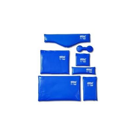 Colpac - 58 cm. (Cortorno cuello) de vinilo azul