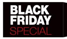 Ya llega el Black Friday 2015 con Descuentos Especiales!