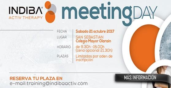 Curso Indiba, Meeting Day día 21 de octubre 2017