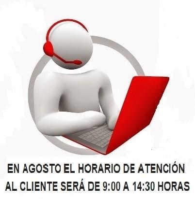 En agosto la atención telefónica sera de 8:00 - 15:00 horas