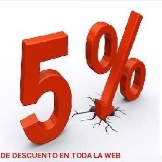 Promoción Rebajas 5% Descuento